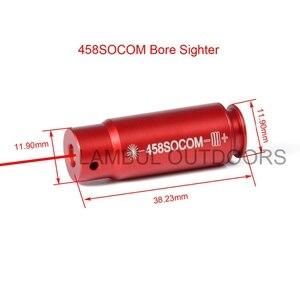 Laser Bohrung Anblick 5,45 X39 7,62 X39 9mm .308 .223 .303 7mm Rot Kaliber Patrone Laser Schussprüfer Taktische Zubehör