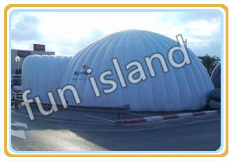 Inflatable Igloo LED Tent, Big Dome Tent With Arch Door,Inflatable Building Tent For Advertising With LOGO