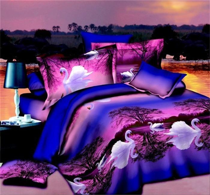 U&H new 3342 3D Bedding Set bed cover duvet cover sets linens bed in a bag sets bedclothes bed in a bagU&H new 3342 3D Bedding Set bed cover duvet cover sets linens bed in a bag sets bedclothes bed in a bag
