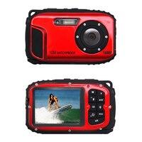 SCLS 16 0MP Waterproof Digital Video Camera Sport Underwater Camcorder DV 2 7 LCD Red