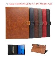 Luxury Business Smart Case For Huawei MediaPad M3 Lite 10 BAH W09 BAH AL00 10 1