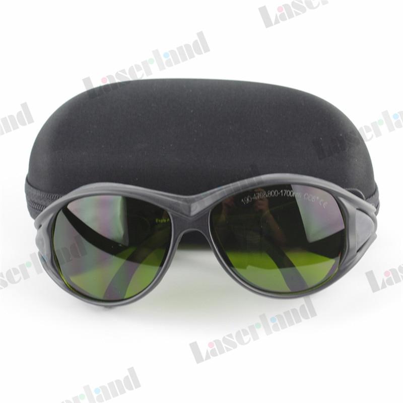 EP-8-2 OD4 + 850nm-980nm-1064nm 190nm-355nm-405nm UV Óculos Óculos de  Proteção Do Laser IR dc78c27fc1