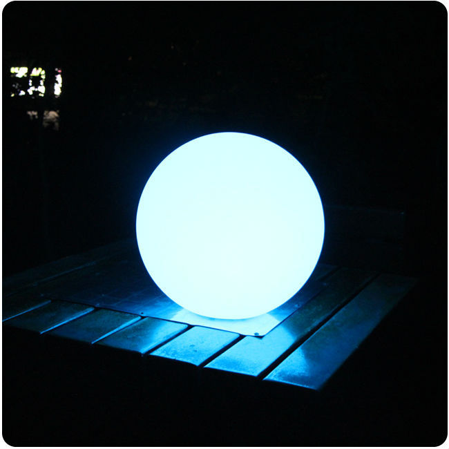 D30cm waterproof led ball outdoor led ball lamp Glowing Waterproof LED Sphere Night Light Ball for Christmas Free Shipping 1pc free shipping remote control colorful modern minimalist led pyramid light of decoration led night lamp for christmas gifts
