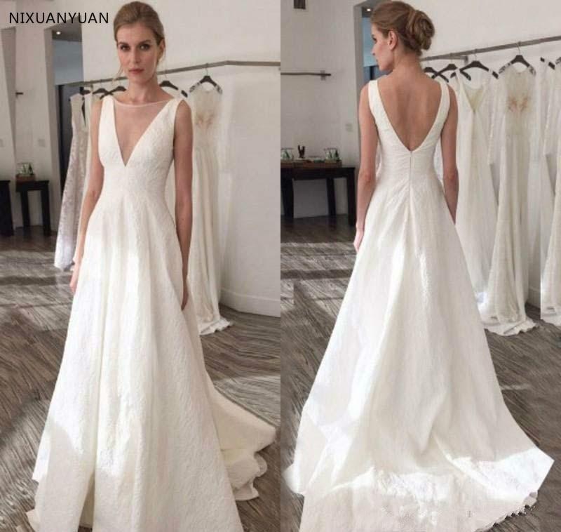 Wedding White Gown Dress