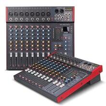 G-MARK MK800 профессиональный микшер аудио музыкальная студийная консоль сценические миксеры микрофон микшер DJ вечерние церкви 48 В фантомное питание
