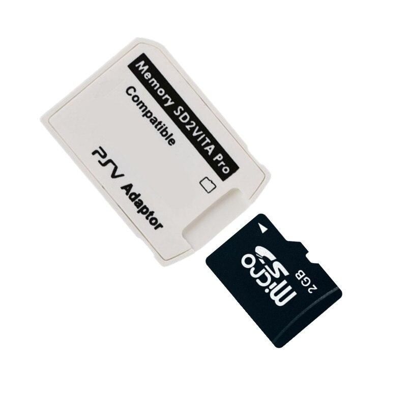 New!!! Micro SD Card 2GB 4GB 8GB 16GB 32GB TF Memory Card + SD2Vita 5.0 Pro Micro SD Memory Card Stick Adapter