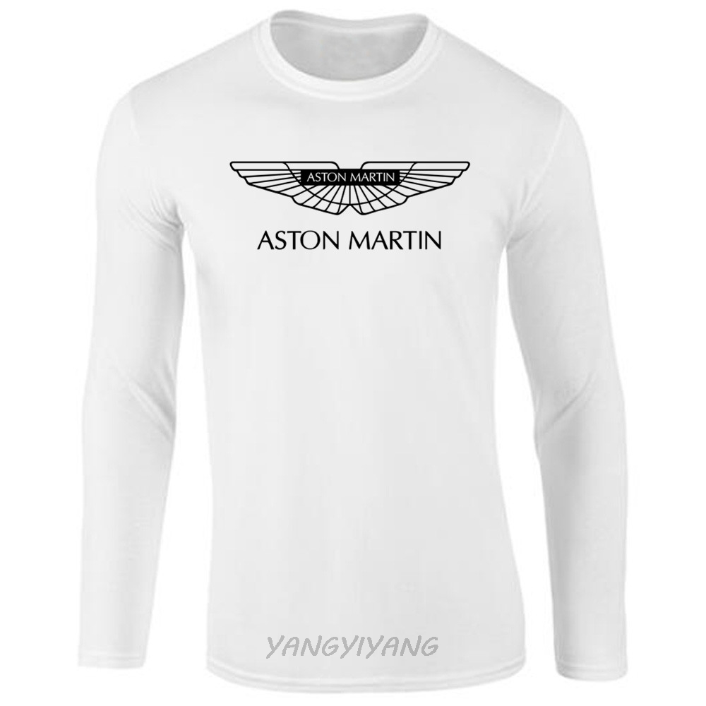 New Arrived Men T Shirt Aston Martin Vanquish Logo O Neck T Shirt - Aston martin shirt