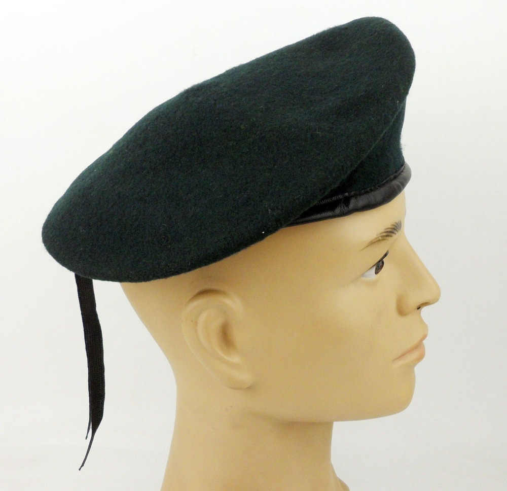 97fa1e9bbe9ea ... US Army Special Forces Green Beret Hat Cap Wool IN Size   US Colonel  Rank Badge