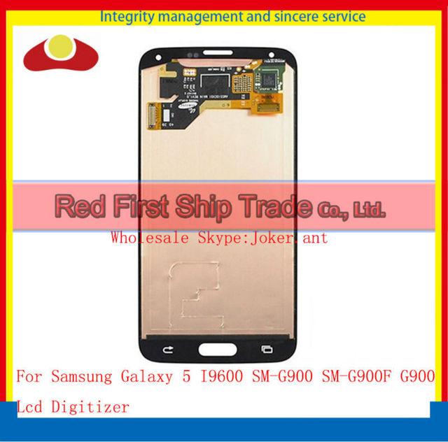 Best Quality Original For Samsung Galaxy s5 I9600 SM-G900 SM-G900F G900 Lcd Assembly Display Touch Screen Digitizer Complete