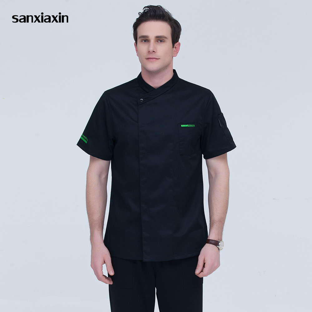 Food Service Chef Uniforms Hotel Catering Restaurant Catering Chef Kitchen Jacket Cooker Work Clothes Unisex Restaurant Uniform