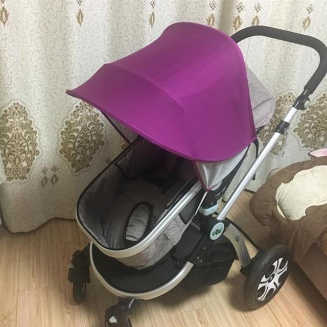 Baby stroller sunshade sun visor baby stroller accessories car seat frame awning awning rain cover canopy stroller stroller acce