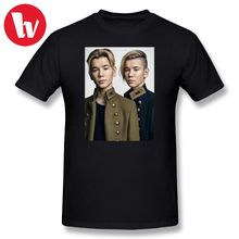 Marcus And Martinus T Shirt Men 3d Print 100 Cotton Shirts Wholesale Male Short Sleeve Basic T-Shirt Awesome Music Tee