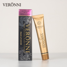 VERONNI Base Foundation Liquid Concealer Cream Primer Full Cover Professional Concealing Contour Cosmetic Coverage Makeup Face цена