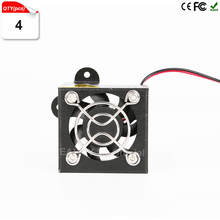 Hot Sale 4Pcs/Lot DIY 3d printer parts Metal cooling fan cover For CREALITY 3D CR-7 CR-8 CR-10 3D Printer Accessories