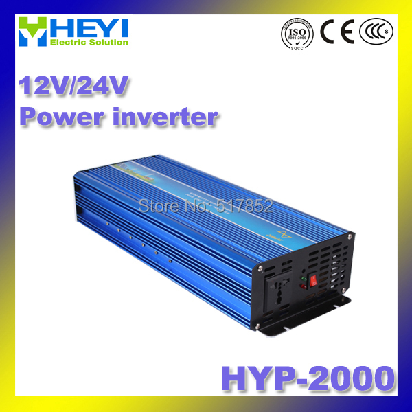 HYP-2000 power inverter 12/24V inverter 12v 220v 50/60Hz high efficiency Soft start sine wave inverter 4000w inverter pure sine wave input 48v 110v hyp 4000 50 60hz soft start power inverter efficiency 90