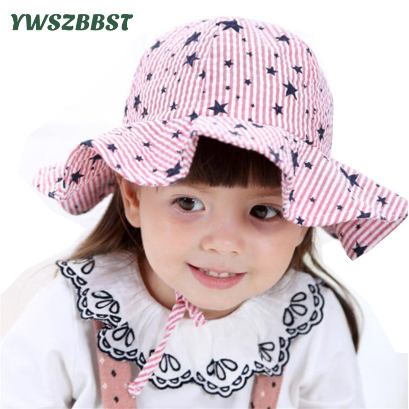 cf047b06af7 New Spring Summer Baby Sun Hat for Girls Boys Sun Caps Toddler Kids Infant  Hat Fashion Stars Baby Hat Beach Cap fit 0 to 2 Age-in Hats   Caps from  Mother ...