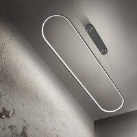 0 7/0 9/1 2 M moderne led anhänger lichter für esszimmer küche schwarz/weiß aluminium Anhänger lampe suspension leuchte lustre led-in Pendelleuchten aus Licht & Beleuchtung bei
