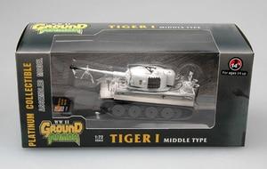 Image 5 - Assembled Tank Model 1:72 Scale Static Tank Model Tiger  Middle  Spzabt.506. Russia 1943 Tank Model 36214