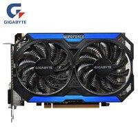 GIGABYTE оригинальный GPU GTX 960 4GD5 видео карты 128Bit GM206 GDDR5 Графика карты для NVIDIA карта Geforce GTX960 4 ГБ GV N960OC 4GD