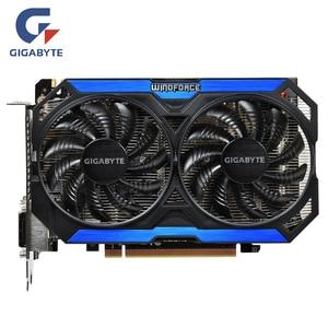 GIGABYTE Original GPU GTX 960 4GD5 Graphics Cards 128Bit GM206 GDDR5 Video Card For NVIDIA Map Geforce GTX960 4GB GV-N960OC-4GD(China)