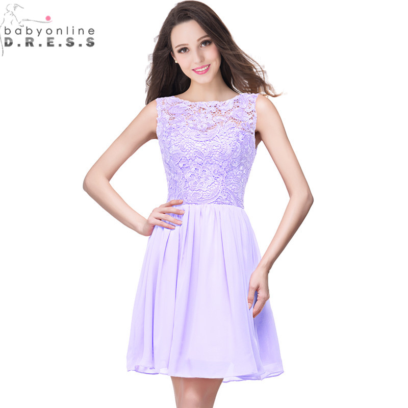 robe demoiselle d 39 honneur real image 11 colors appliques lace lavender short bridesmaid dresses. Black Bedroom Furniture Sets. Home Design Ideas