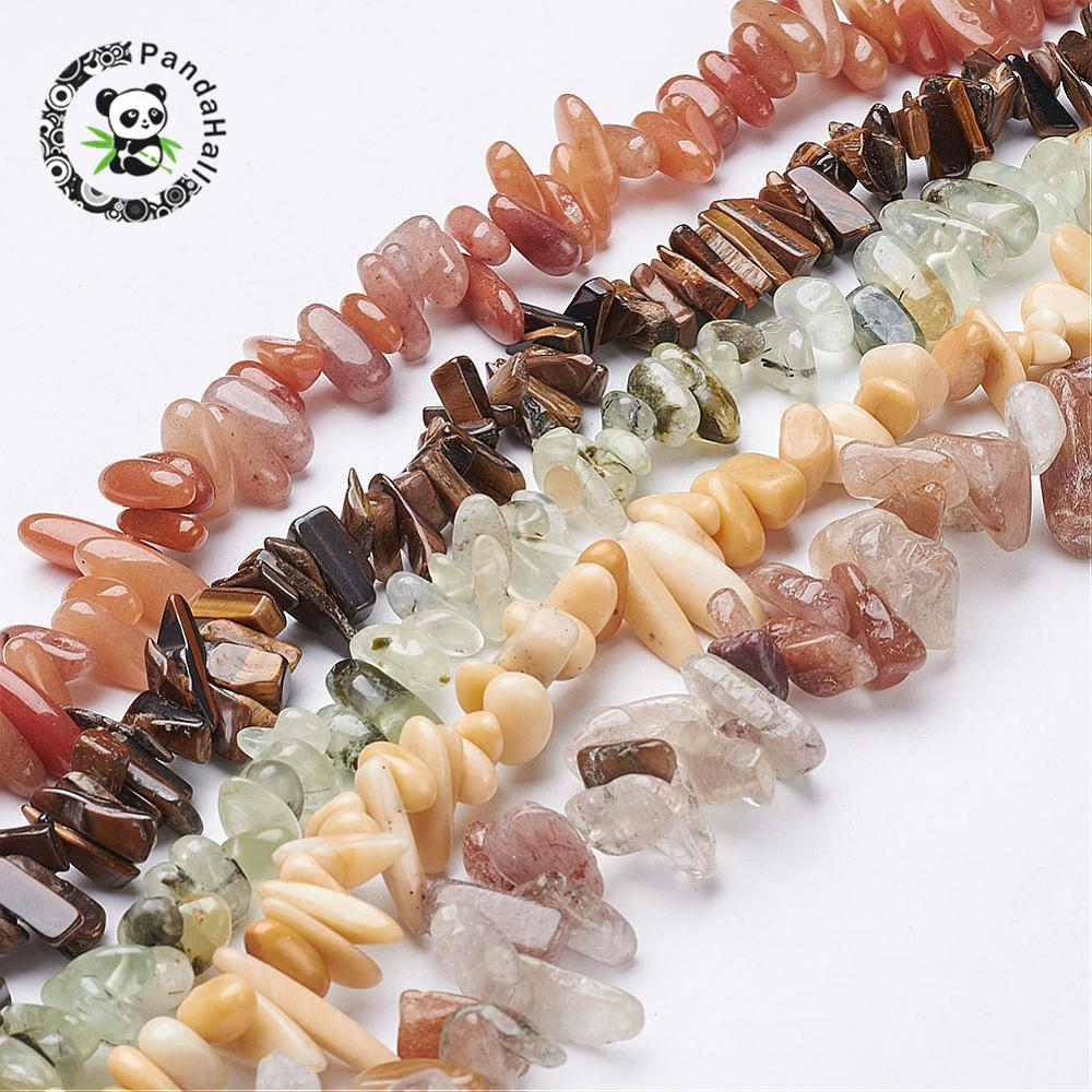 stone loose beads strands assorted stone tube mixed color 5 7x15 24x5 6mm hole 1mm