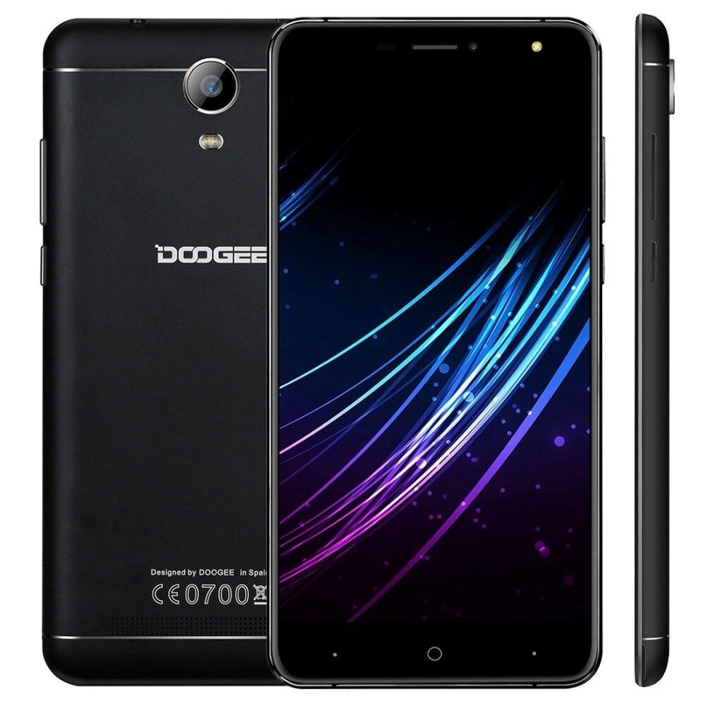 Doogee Teléfono X7 4G Móvil 6.0 Pulgadas HD MTK6737 Quad Core Android 6.0 1 GB R