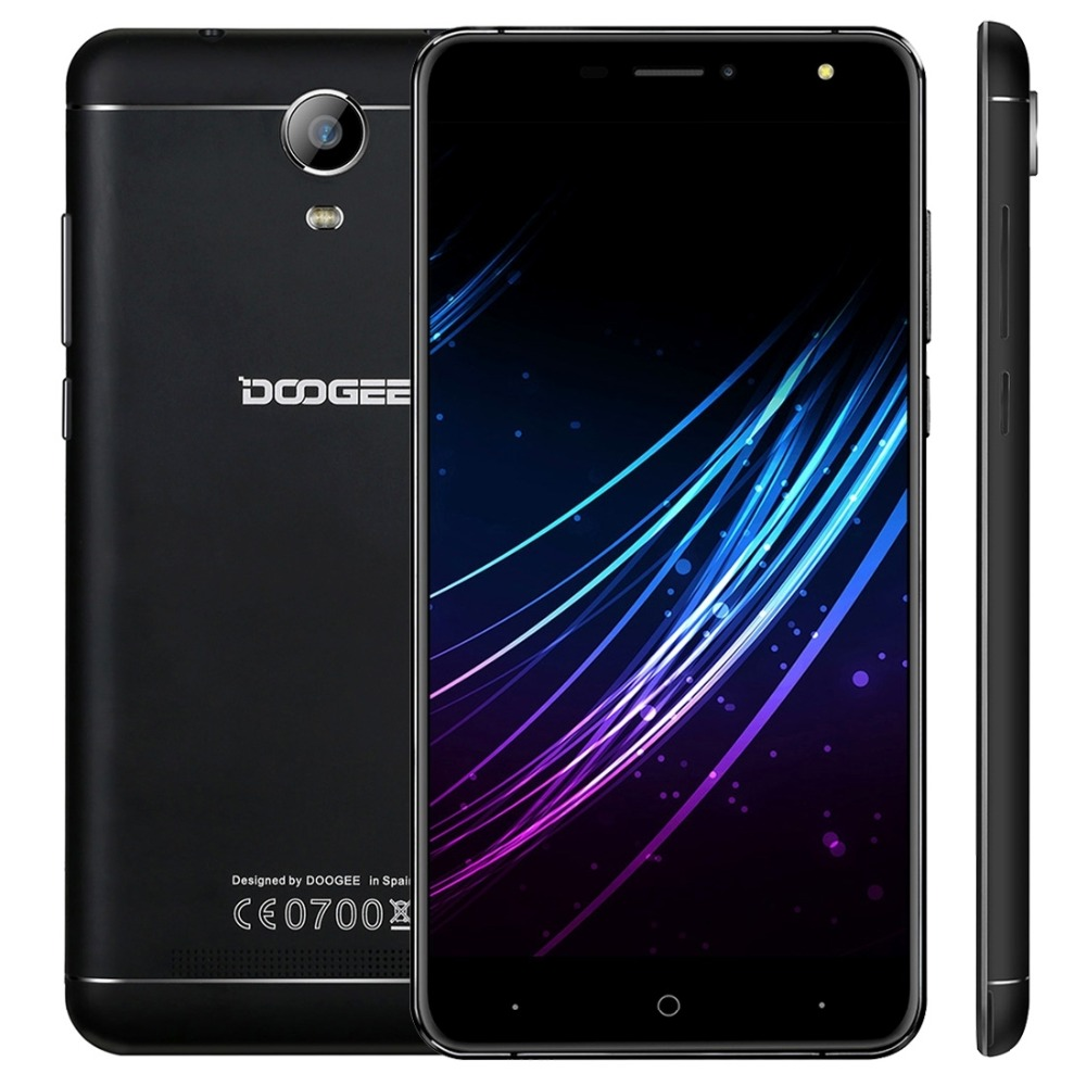 Doogee X7 Mobile Phone 6 0 Inch HD MTK6737 Quad Core Android 6 0 1GB RAM