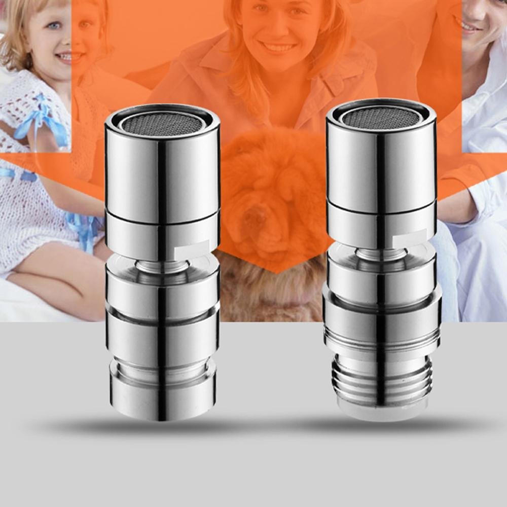 New Brass Water Saving Tap Faucet Aerator Sprayer Attachment with 360-Degree Swivel 2019 1