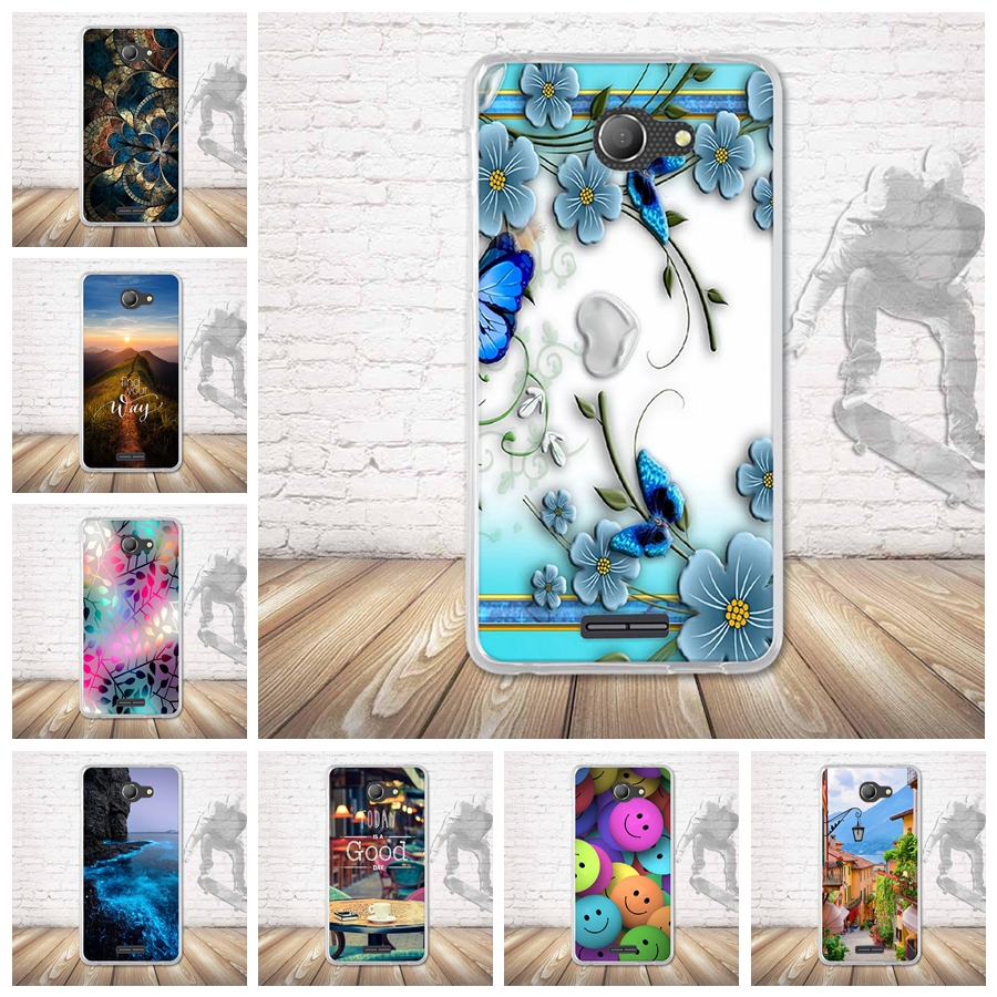 Half-wrapped Case Responsible Print Case For Alcatel Pop 4s Ot5095 5.5 Inch Protection 3d Relief Cover Back Soft Tpu Cases Painted Pattern Cover Cute Shells Elegant And Sturdy Package