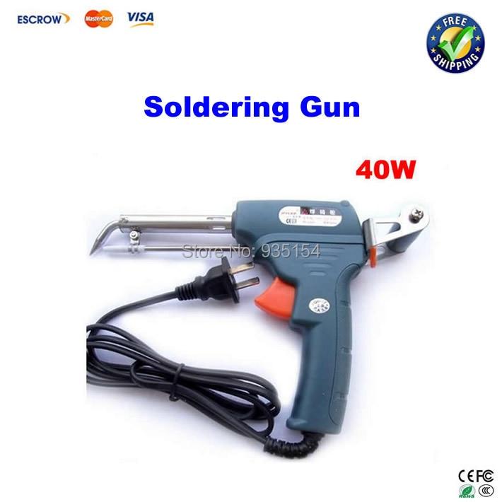 ФОТО 40W Automatic soldering iron gun Send Solder wire Soldering Gun