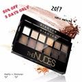 12 cores da sombra de maquiagem profissional paleta naked nus natural shimmer matte maquiagem cosméticos sombra de olho placa