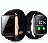 Doskonała Jakość Biznes Mężczyźni Kobiety Inteligentne inteligentne elektronika wsparcie karty SIM kompatybilny Andriod i IOS Iphone Zegarek
