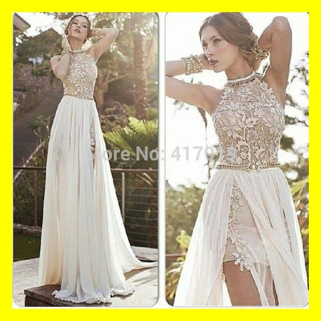 Fitted Wedding Dresses Gold Dress Guest Summer Black And White Off A Line Floor