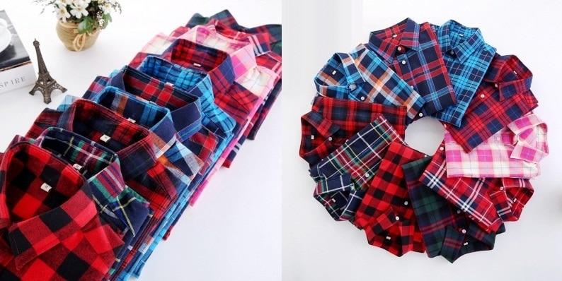 HTB1C6hoRFXXXXc8apXXq6xXFXXXP - Girl's Plaid Flannel Shirt PTC 67