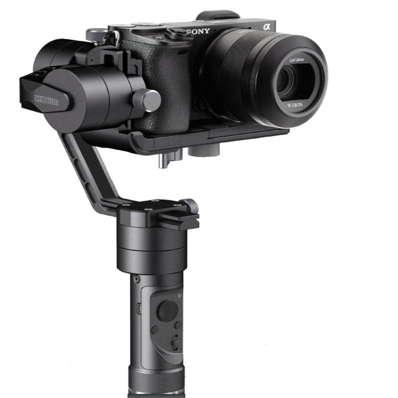 Original Zhiyun Crane M Handheld Stabilizer Gimbal  three axis handheld gyroscope for Gopro stabilizer video live pan