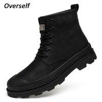 Мужские ботильоны, зимняя обувь, мужские ботинки, Теплая мужская обувь из натуральной кожи, новый стиль, мужская обувь, большие размеры 45, 46,