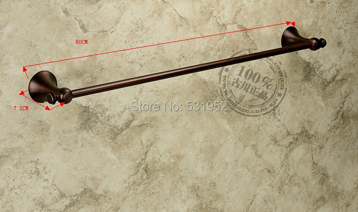 Free Shipping Classical Single Towel Bar,Satin Black Towel Holder,Solid Brass Made, Bathroom Products,Bathroom Accessories free shipping ba9105 bathroom accessories brass black bronze toilet paper holder