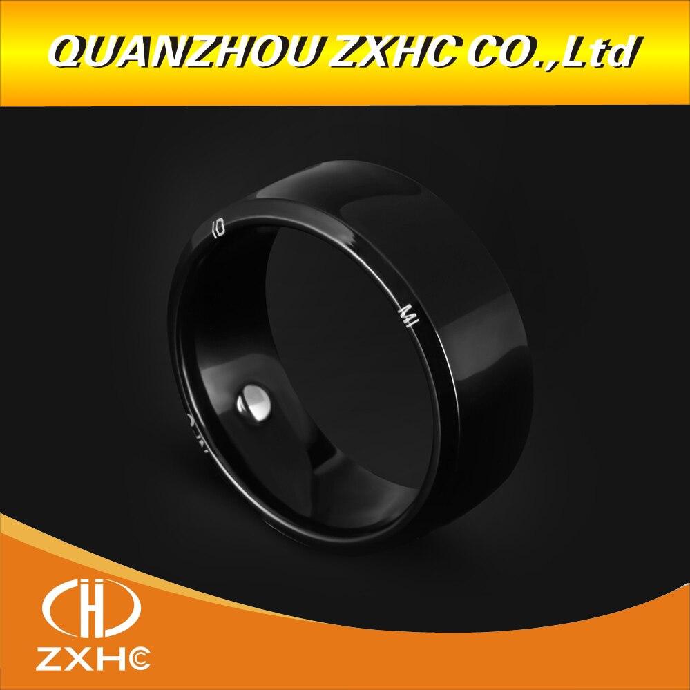 125 khz 13,56 mhz RFID Multifunktionale Titan Und Edelstahl Smart Finger Ring IC/ID/NFC R3 Drei chips Tragen für Männer