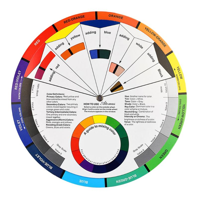 Compare Prices On Color Wheel Chart- Online Shopping/Buy Low Price