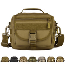 Fishing Bag Outdoor Tacticsl Military Assault Bag Pack fishing rod Small Pockets Man Waterproof Nylon Crossbody Bag Men Handbag