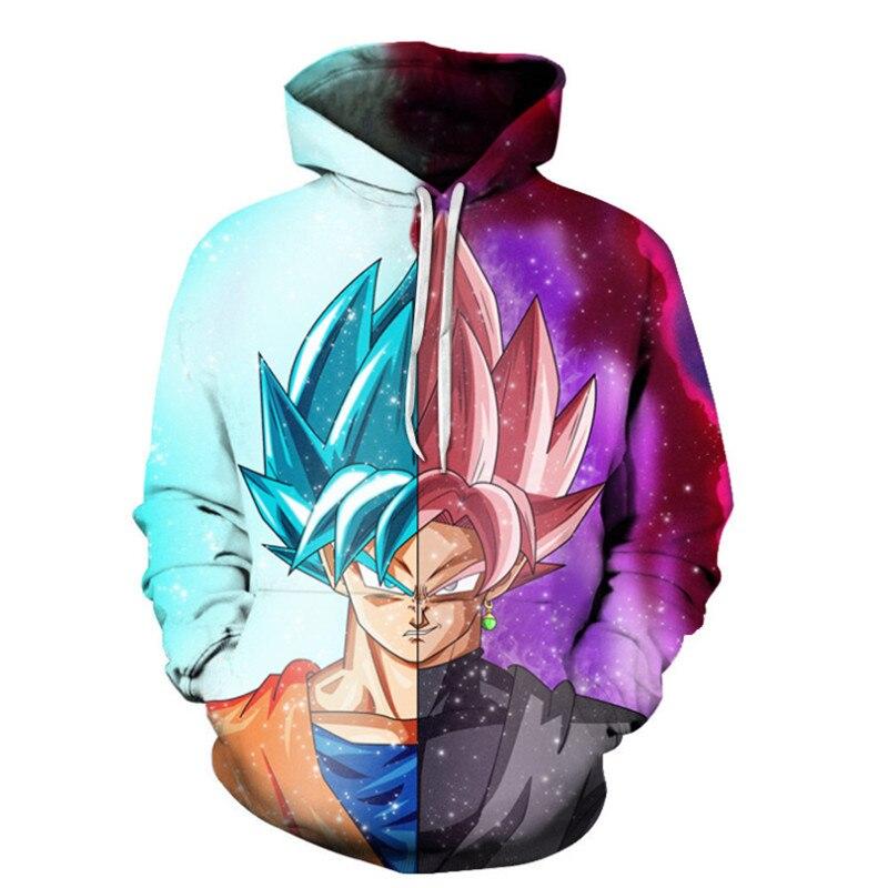 1c05f003c2fc Dragon Ball Hoodies Men Women 3D Hoodie Dragon Ball Z Sweatshirts Anime  Fashion Casual Tracksuits Boy