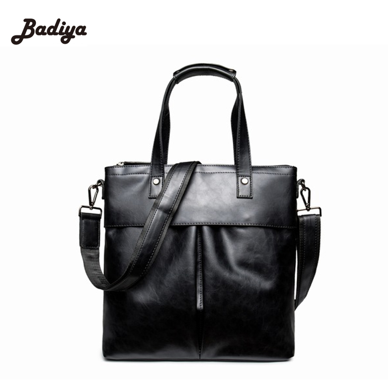 Casual Briefcase Men Business Shoulder Bag PU Leather Messenger Bags Computer Laptop Handbag Bag Men's Travel Bags neweekend men casual briefcase business shoulder bag leather messenger bags computer laptop handbag bag men s travel bags 2951
