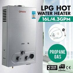 16L Propan Gas LPG Digital Control Heißer Wasser Heizung
