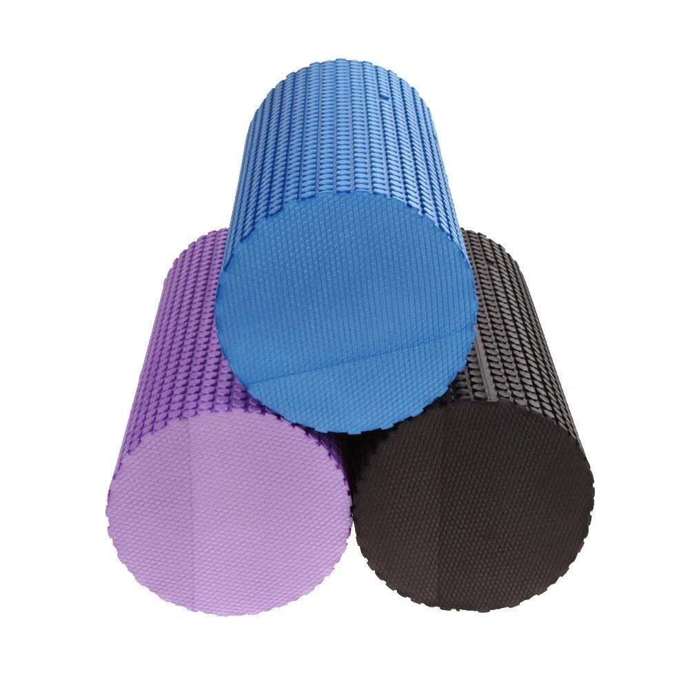 3 Colors Yoga Block Gym Exercise Fitness Yoga Foam Roller 30cm EVA Floating Trigger Point Exercise Physical Massage Training