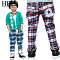 Kids clothes baby boys pants spring autumn children pants elastic waist trousers children's clothing / kids pants 2015 new Hot