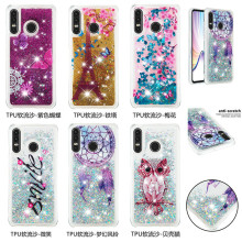 For Coque Huawei P30 lite case Dynamic Liquid Glitter Bling Silicone cover sFor Fundas pro Phone Case
