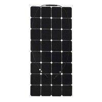 100 Вт В 18 в солнечная панель Гибкая эффективная ячейка Pv модуль для В 12 в зарядное устройство насос свет дома лодка Camper Placa Солнечный