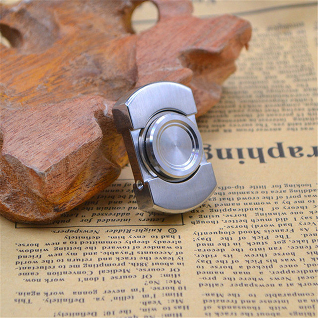 Fun VORSO Edition Fidget Toy Stainless Steel EDC Hand Spinner  For Autism and ADHD Rotation Stress Toys