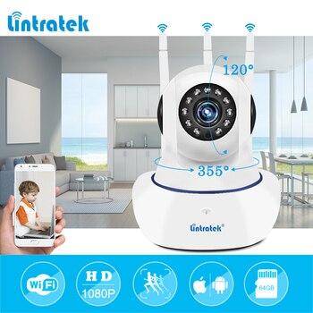 Bezprzewodowy zabezpieczenia IP kamera wifi HD 1080P bezprzewodowy dostęp do internetu nadzoru wideo P2P mini domu Onvif niania elektroniczna Baby Monitor Ipcamera LINTRATEK